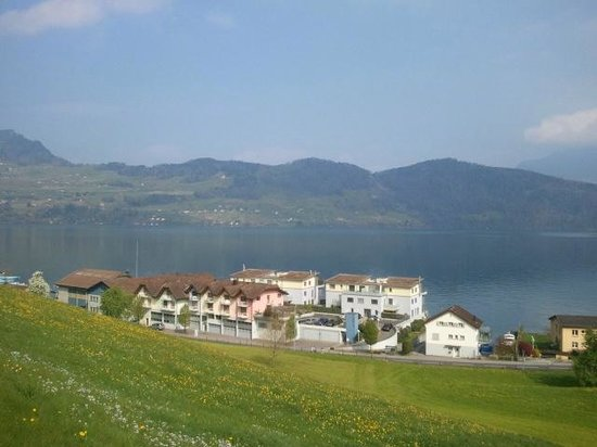 Boutique Hotel Schluessel : 호텔에서 보이는 호수