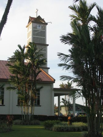 Arenal Springs Resort and Spa : La Fortuna kerk