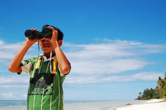 Wakatobi Hoga Diving: Looking into the horizon