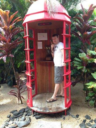 Tamassa Resort : Free phone call home
