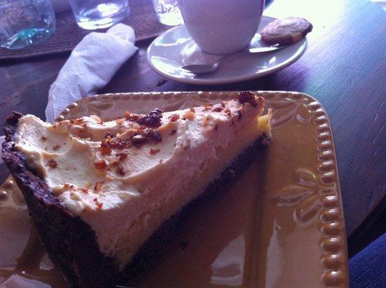 Ganache Cafe & Pasteleria: Torta maravilhosa