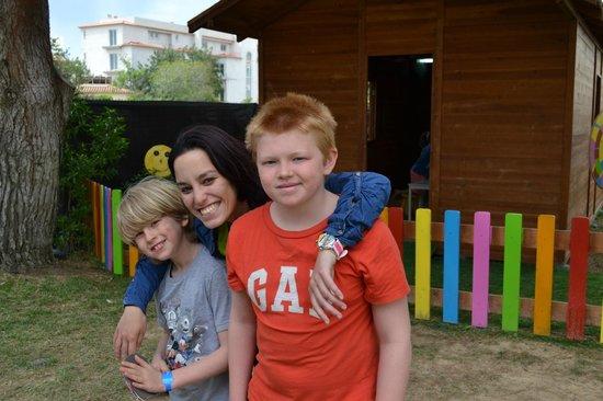 Albufeira Sol Suite Hotel & Spa: Rita and my boys