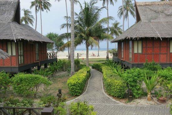 Phi Phi Island Village Beach Resort : Blick aus dem Bungalow