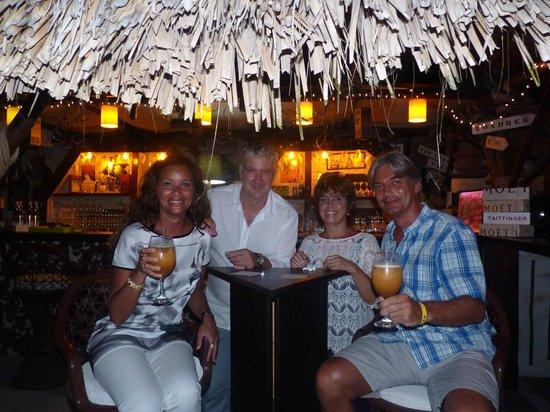 Las Palmas: Délicieux cocktail en Cie de Sylvie & Didier...