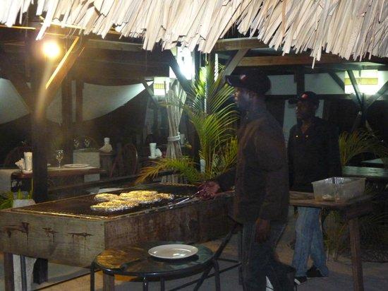 Las Palmas: Poissons en papillote...