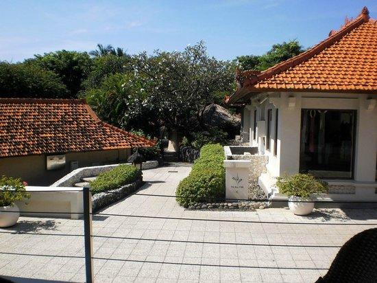 Grand Hyatt Bali : территория отеля