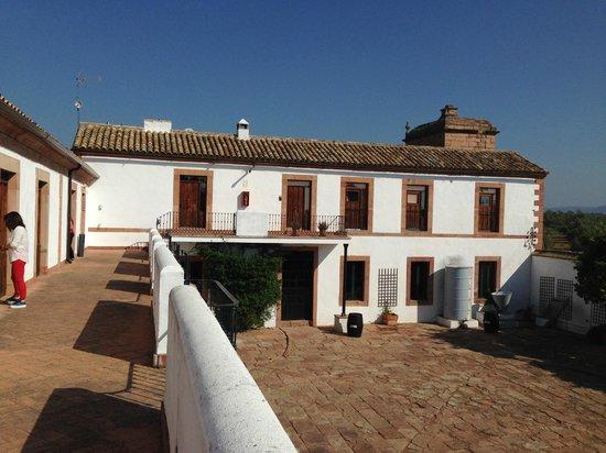 Molino La Nava: el Hotel con su patio