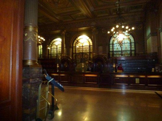 Hotel Metropole : Reception