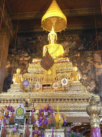 Wat Pho (Templo de Buda reclinado): Wat Pho