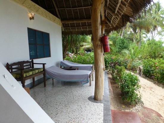 Pongwe Beach Hotel : Our Terrace
