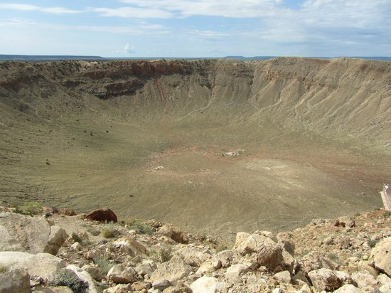 Meteor Crater: Il cratere