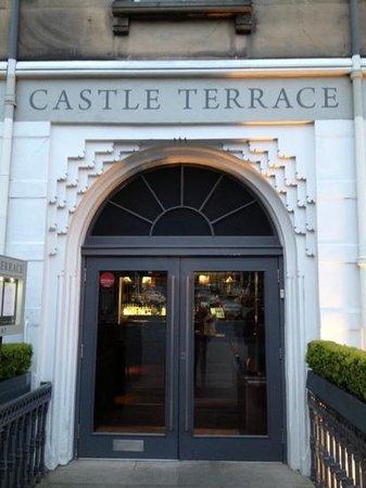 Castle Terrace Restaurant: schitterend restaurant