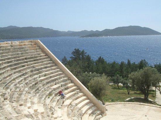 Hotel Kale: Blick vom Amphitheater