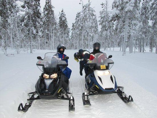 Levi Ski Resort: снегоходный маршрут