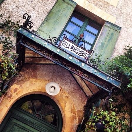 Villa Marguerite: entrada