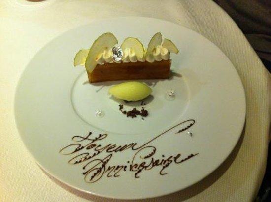 Les Hauts de Lille : Dessert personnalisé .