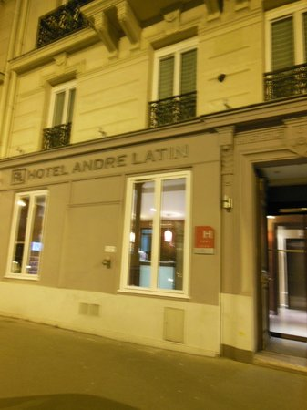 Hotel Andre Latin: outside