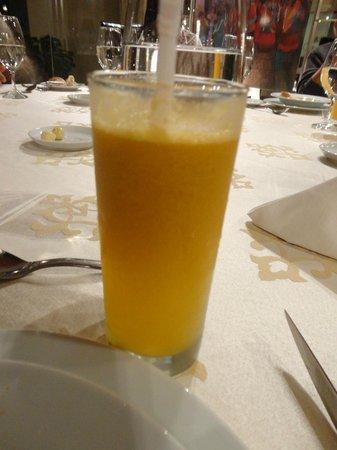 Aranwa Sacred Valley Hotel & Wellness : refreshing aguaymanto juice