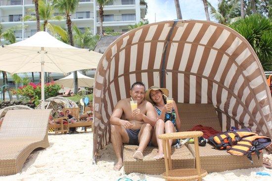 Shangri-La's Mactan Resort & Spa: Love their beach