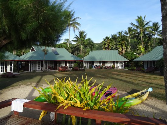 Muri Beachcomber: sea view bungalows