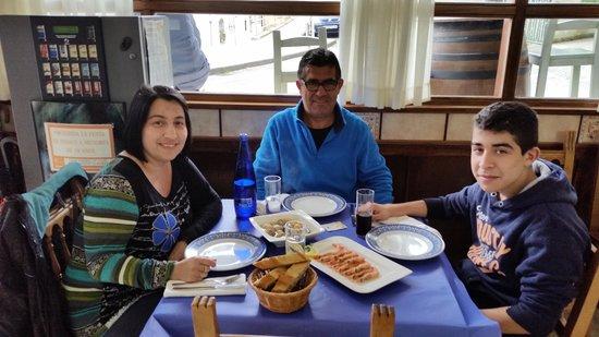 El Retiro Restaurante: La comida fresca y muy  buena y el trato muy bueno si vuelvo a Santillana de mar volveré a comer