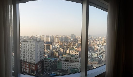 Courtyard by Marriott Seoul Times Square : View from 16th floor