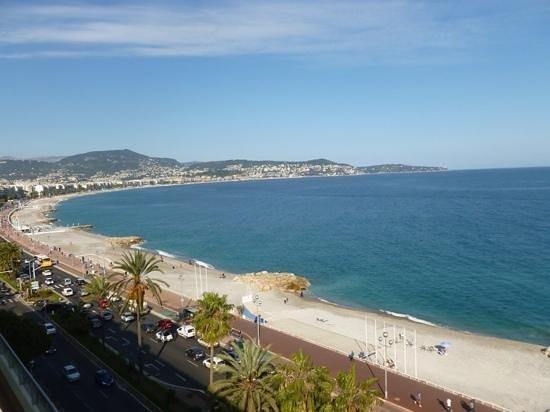 Radisson Blu Hotel, Nice: rooftop view