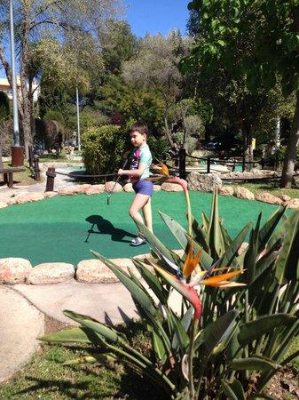 Golf Fantasía: Round the course