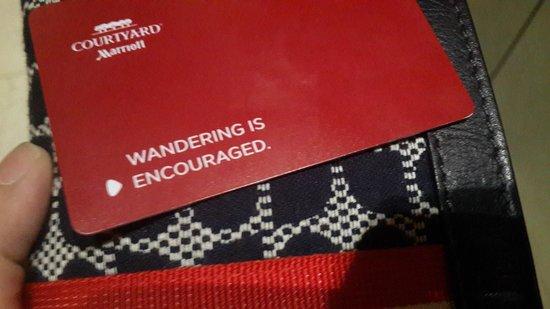 Courtyard by Marriott Seoul Times Square : Wandering encouraged indeed!!