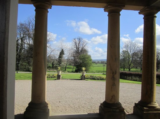 Solberge Hall Hotel: View from the portico