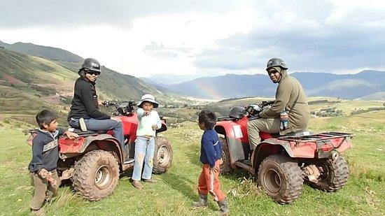 Peru Moto Tours: Beautiful Rainbow