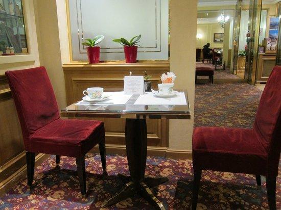 Hotel Concortel: 朝食