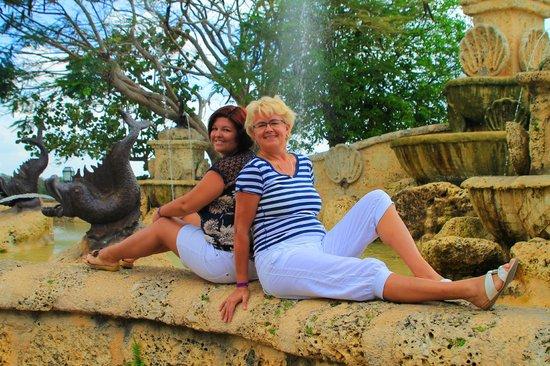 Altos de Chavon: фонтан желаний