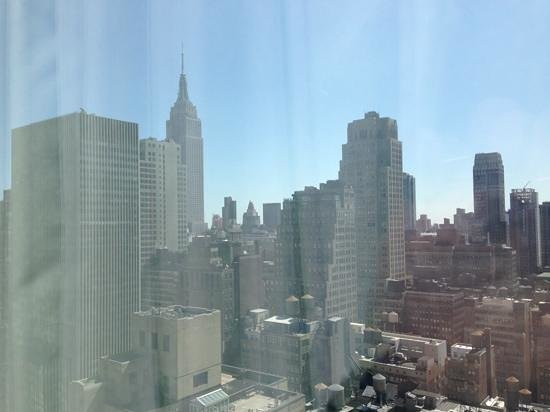 Hilton Times Square: View from 35th floor