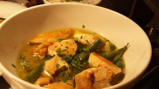 Greys Sitges: Thai green chicken curry