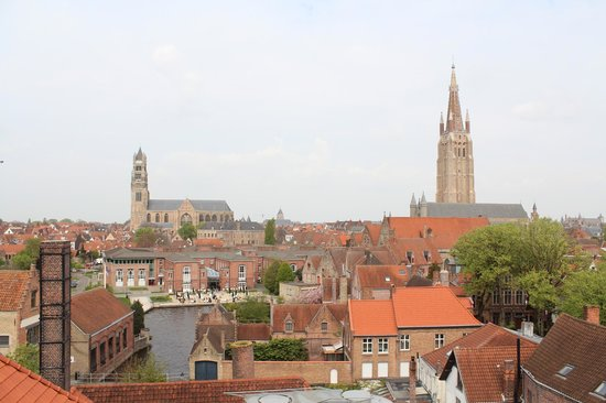 De Halve Maan Brewery : View from the roof