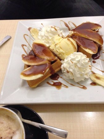 Pure Waffle: Not that good , am not going back again