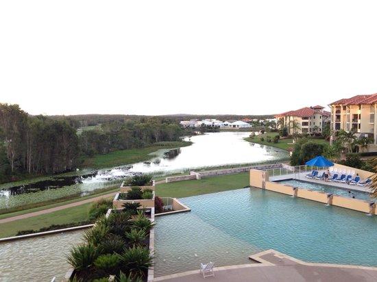 Pelican Waters Golf Resort & Spa : View from room