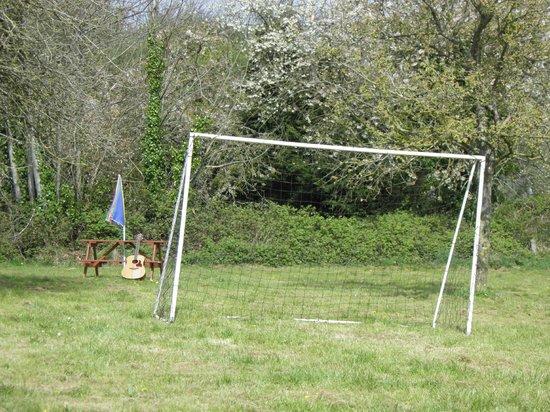 La Foret de Glenne: goal net