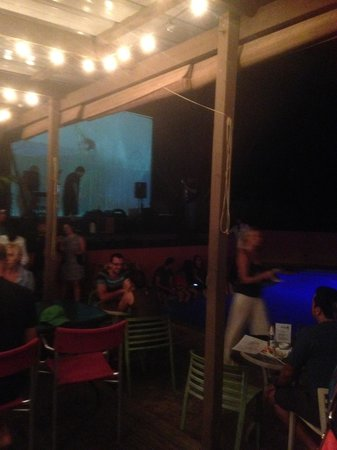 The Pool Bar: Ready for a Band @10pm
