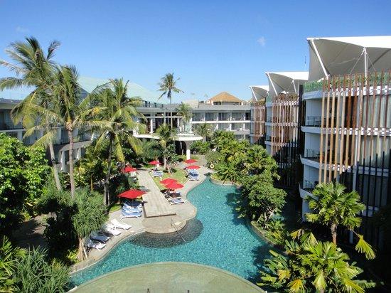 Le Meridien Bali Jimbaran: プールの眺め