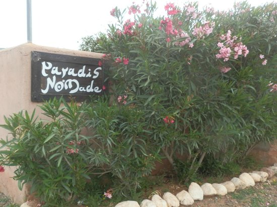 Paradis Nomade: entrée
