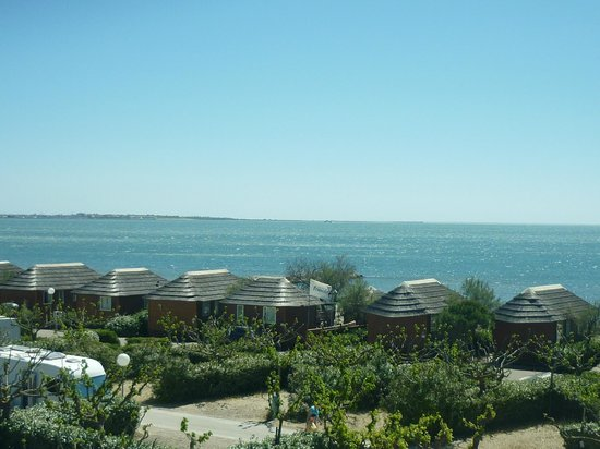 Camping le Boucanet: Vue camping