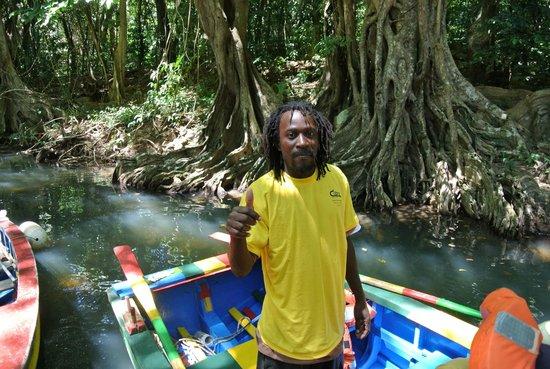 Indian River: Unser Bootsführer