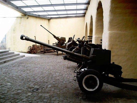 Forte de S. Bras: Eine Auswahl von alten Geschützen