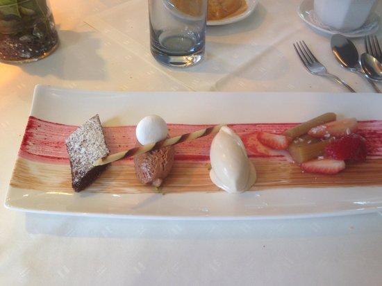 Kucher's Landhotel: plat succulent