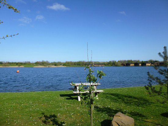 Dacre Lakeside Park: View from pod