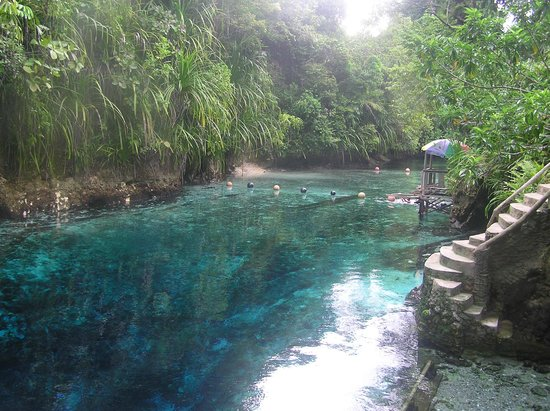 Hinatuan, Φιλιππίνες: View of the Enchanted River