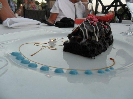 Papillon Zeugma Relaxury: brilliant dessert
