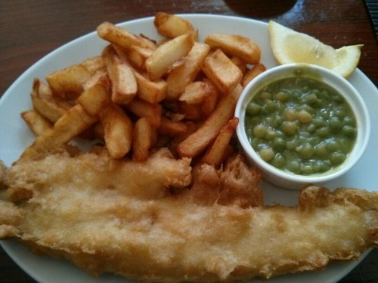 Naked Fish: Fish and chips (2 for £14)